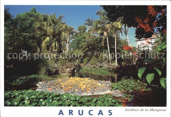 Arucas Gran Canaria Jardines de la Marquesa Kat.