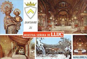 Lluc Santuario Nuestra Senora Kat. Mallorca