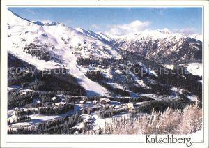Sankt Michael Lungau Panorama Wintersportgebiet am Katschberg Kat. Sankt Michael im Lungau
