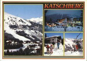 Sankt Michael Lungau Wintersportgebiet Katschberg Kat. Sankt Michael im Lungau