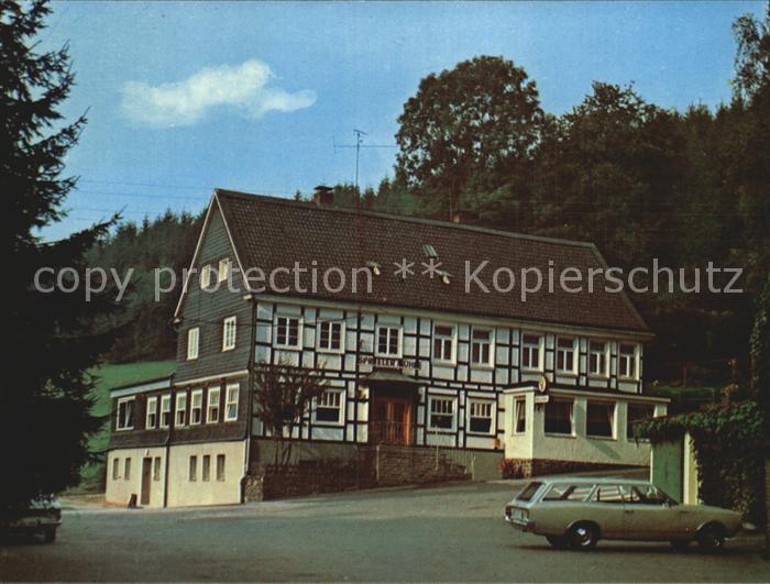 Ennepetal Cafe Restaurant Spreeler Muehle Koenigsfeld Remlingrade Kat. Ennepetal