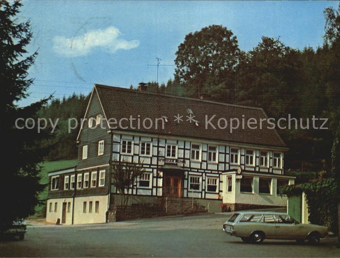 Ennepetal Koenigsfeld Cafe Restaurant Spreeler Muehle Kat. Ennepetal