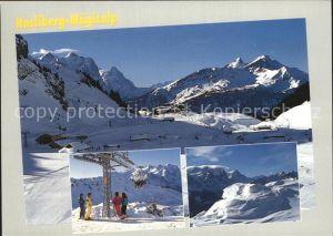 Maegisalp Glogghues Winterpanorama Berner Alpen Wintersport