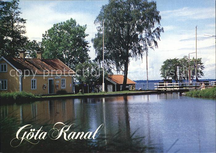 Schweden Goeta Kanal Sjoetorps Vaenern See