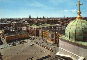 Helsinki Blick vom Dom zur Universitaet Kat. Helsinki