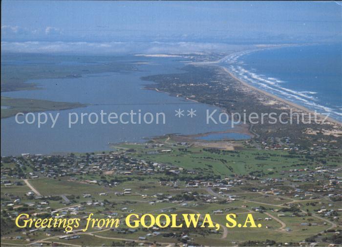 Australien Goolwa Panorama Luftbild Kat. Australien