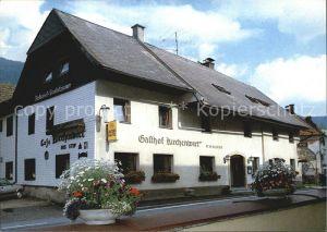 St Johann am Tauern Gasthof Pension Cafe Kirchenwirt Kat. St Johann in der Haide Steiermark