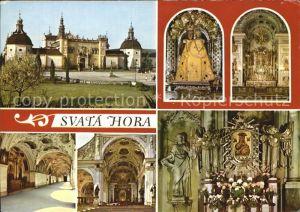 Svata Hora Schloss Kat. Tschechische Republik