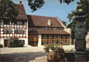Greifensee Landenberghaus Brunnen Kat. Greifensee
