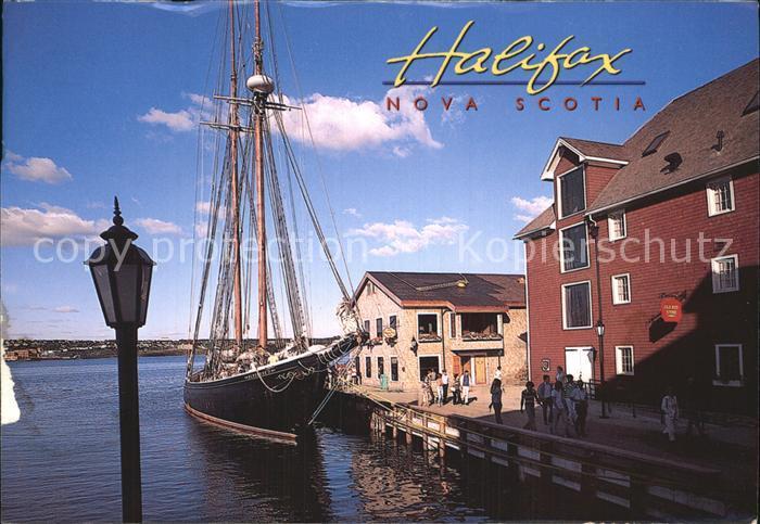 Halifax Nova Scotia Teilansicht Fischerboot  Kat. Halifax