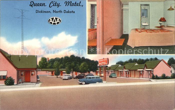 Dickinson North Dakota Queen City Hotel Kat. Dickinson