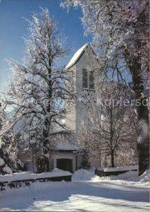 Lenk Simmental Protestantische Kirche Kat. Lenk Simmental