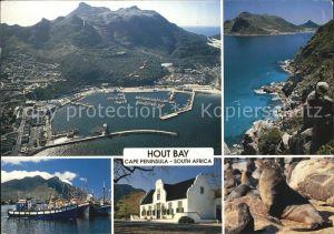 Cape Peninsula Fliegeraufnahme Kat. Suedafrika