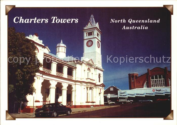 Charters Towers Post Office Building Cock Tower
