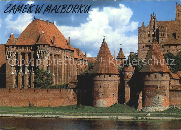 Malbork Zamek Marienburg Kat. Marienburg Westpreussen