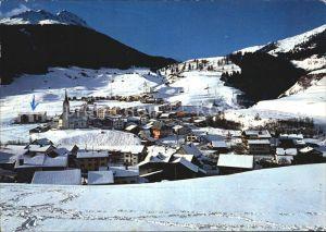 Savognin Winter Oberhalbstein Kat. Savognin
