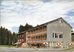 Jaunpass Hotel des Alpes Kat. Jaun