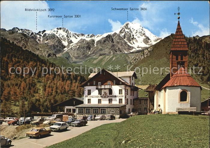 Ak ansichtskarte unser frau schnals pension garni for Bozen boutique hotel