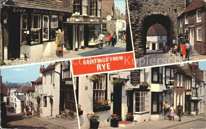 Rye East Sussex John Fletchers House Land Gate Mermaid Street  Kat. East Sussex