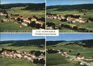 Les Verrieres Grenze Frankreich Schweiz Kat. Les Verrieres