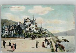 Assmannshausen Assmannshausen Gasthof zur Krone * / Ruedesheim am Rhein /