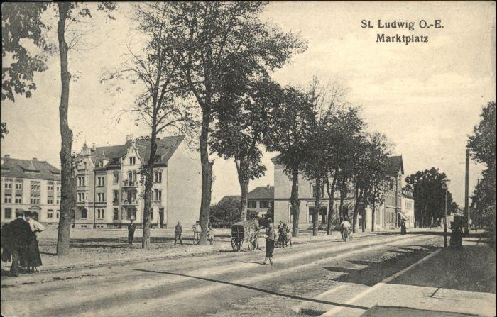 Saint-Louis Elsass St Louis Elsass Marktplatz x / Saint-Louis /Arrond. de Mulhouse