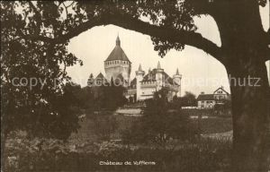 Vufflens le Chateau Blick auf Schloss Kat. Vufflens le Chateau