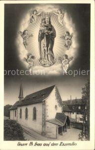 Luzern LU Wallfahrtskirche Gnadenbild unsere liebe Frau Wesemlin Kat. Luzern