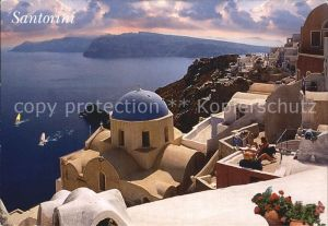 Santorin Thira Thera Panorama Kat.