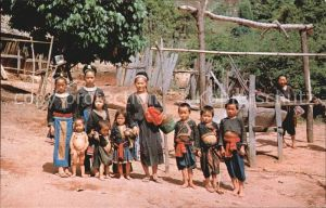 Chiengmai Meos Gathering at Meo Village