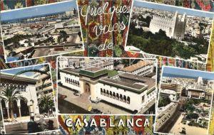 Casablanca Quelques vues de Casablanca Kat. Casablanca