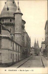 Chartres Eure et Loir Rue du Lycee Kat. Chartres