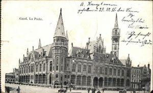 Gand Belgien La Poste Kat. Gent Flandern