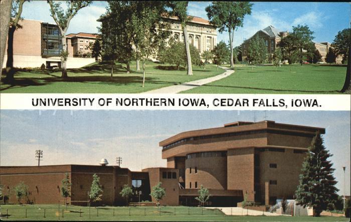 Cedar Falls Iowa University of Northern Iowa Kat. Cedar Falls