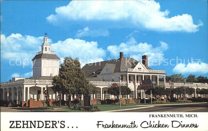 Michigan Zehnders Frankenmuth Chicken Dinners Kat. Michigan