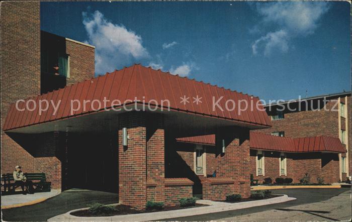 Michigan Holland Home Main Entrance Kat. Michigan