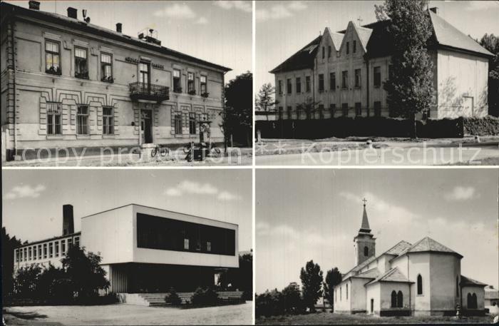 Nagykata Teilansichten Gebaeude Kirche
