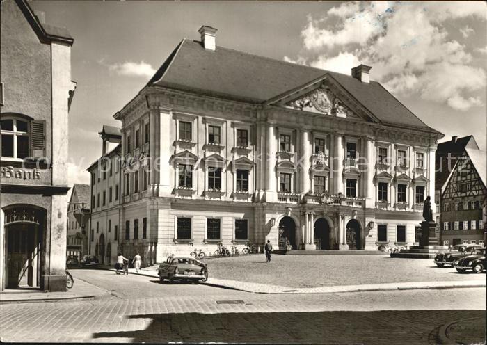 Lauingen Donau Rathaus Kat. Lauingen (Donau)