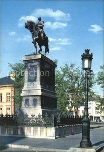Luxembourg Luxemburg Monument equestre de Guillaume II Roi des Pays Bas et Grand Duc de Luxembourg Kat. Luxembourg