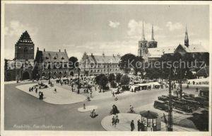Roskilde Raadhustorvet Platz Kat. Roskilde