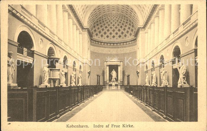 Kobenhavn Indre af Freu Kirke Kirche Kat. Kopenhagen
