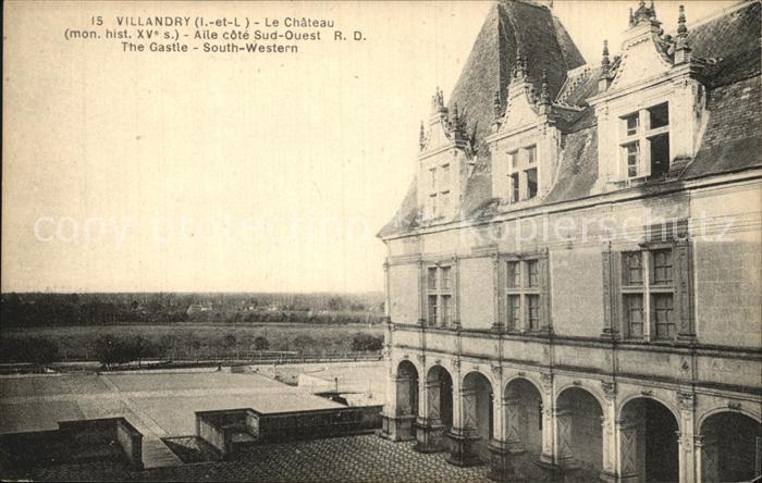 Villandry Chateau Kat. Villandry