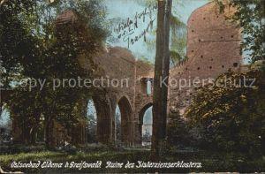 Eldena Greifswald Ruine des Zisterzienserklosters Kat. Greifswald