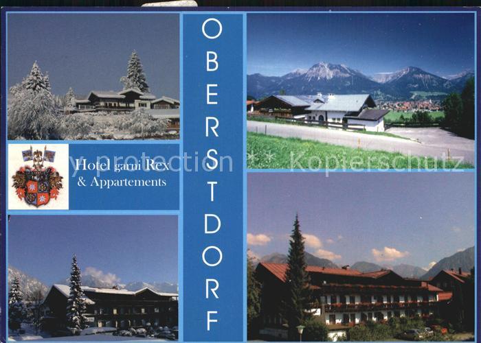 Oberstdorf Hotel garni Rex Kat. Oberstdorf