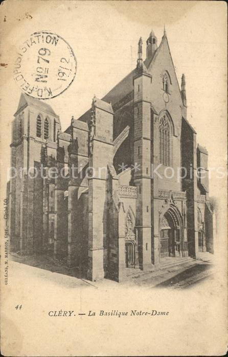 Clery Saint Andre Basilique Notre Dame Kat. Clery Saint Andre