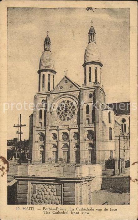 PORT AU PRINCE Cathedrale Kat. PORT AU PRINCE