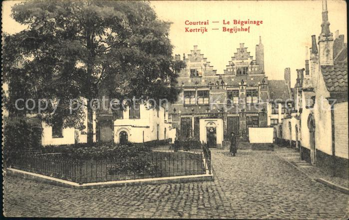 Courtrai Flandre Le Beguinage Kat. Kortrijk