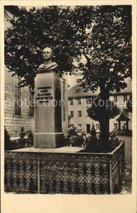 Wunsiedel Jean Paul Platz Denkmal Kat. Wunsiedel