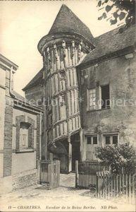Chartres de Bretagne Escalier de la Reine Berthe Kat. Chartres de Bretagne