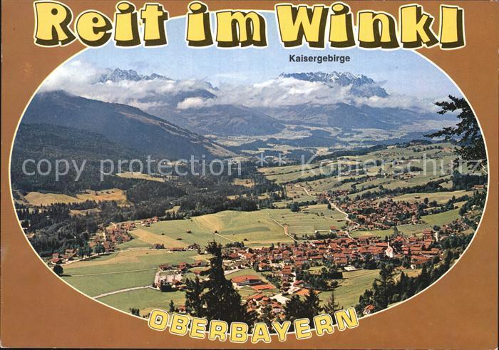 Reit Winkl Fliegeraufnahme Kat. Reit im Winkl